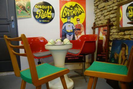 Table/lampe Tam Tam
