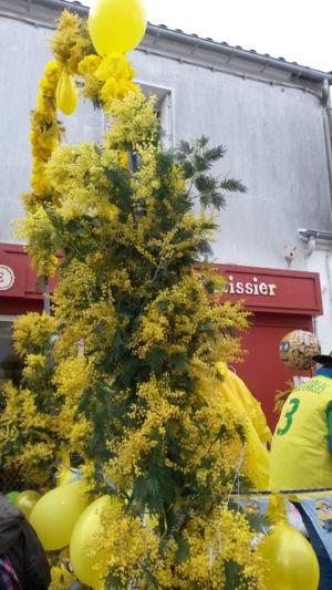 brocante-oleron-fete-mimosa-bouquet